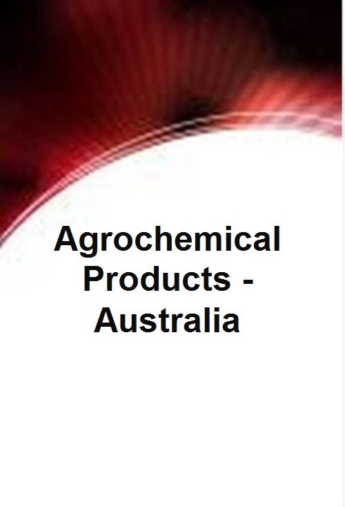 Agrochemical Products - Australia - Product Image