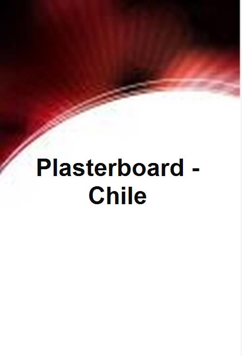 Plasterboard - Chile - Product Image