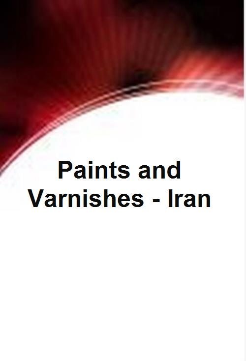 Paints and Varnishes - Iran - Product Image