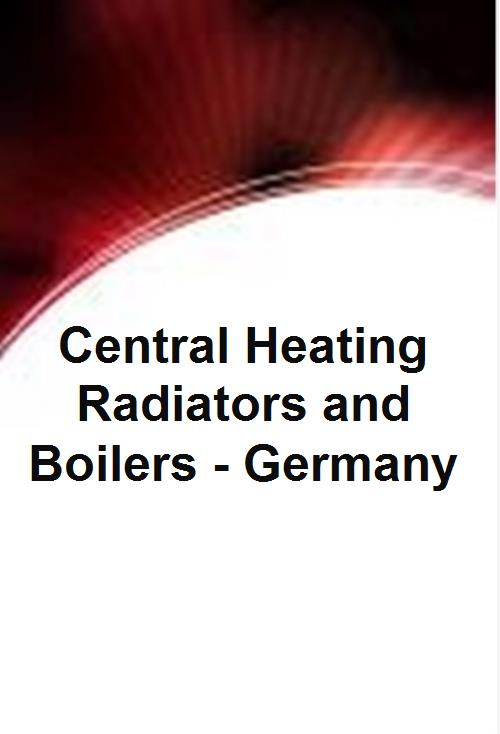 Central Heating Radiators and Boilers - Germany - Product Image
