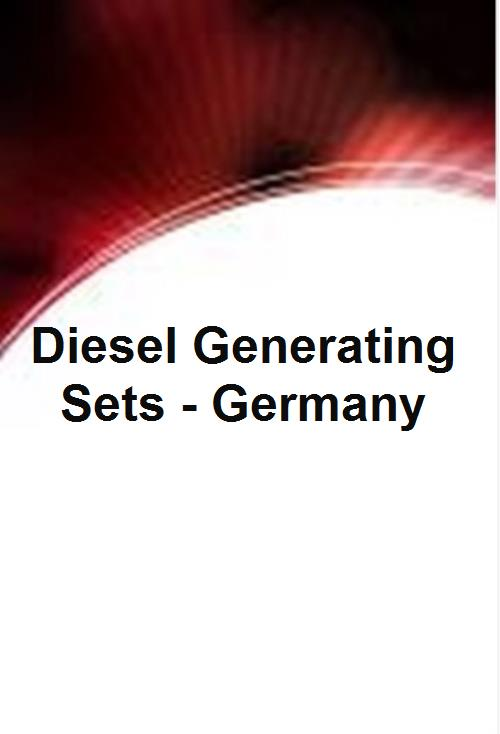Diesel Generating Sets - Germany - Product Image