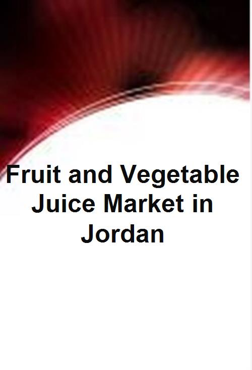 Fruit and Vegetable Juice Market in Jordan - Product Image