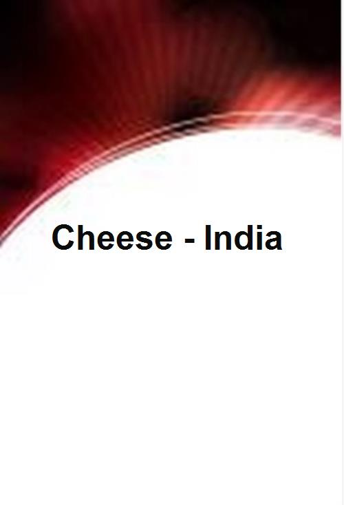 Cheese - India - Product Image