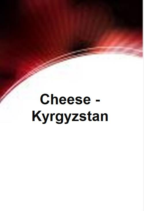 Cheese - Kyrgyzstan - Product Image