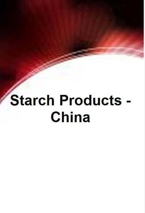 Starch Products - China - Product Image