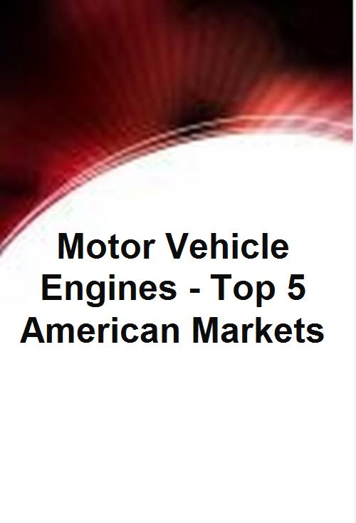 Motor Vehicle Engines - Top 5 American Markets - Product Image