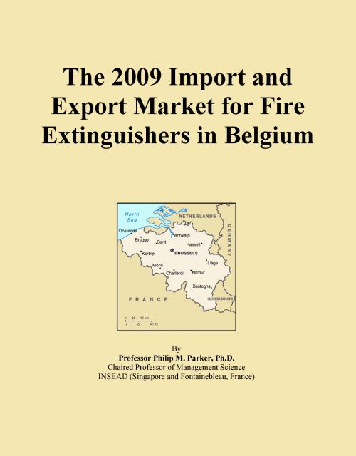 The 2009 Import and Export Market for Fire Extinguishers in Belgium - Product Image