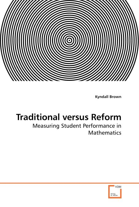 Traditional versus Reform. Edition No. 1 - Product Image