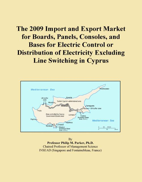 The 2009 Import and Export Market for Boards, Panels, Consoles, and Bases for Electric Control or Distribution of Electricity Excluding Line Switching in Cyprus - Product Image