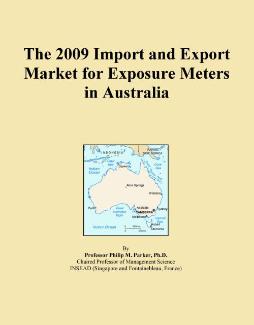 The 2009 Import and Export Market for Exposure Meters in Australia - Product Image