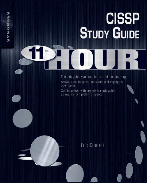 Eleventh Hour CISSP - Product Image