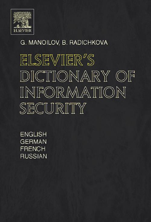 Elsevier's Dictionary of Information Security - Product Image