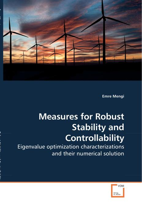 Measures for Robust Stability and Controllability. Edition No. 1 - Product Image