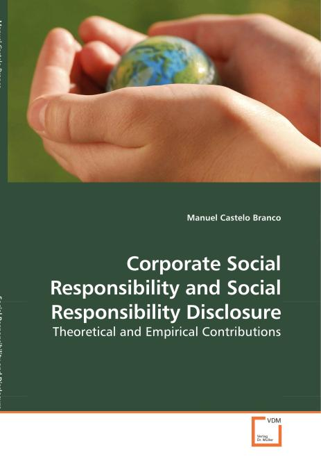 Corporate Social Responsibility and Social Responsibility Disclosure. Edition No. 1 - Product Image