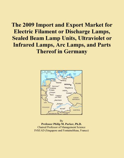 The 2009 Import and Export Market for Electric Filament or Discharge Lamps, Sealed Beam Lamp Units, Ultraviolet or Infrared Lamps, Arc Lamps, and Parts Thereof in Germany - Product Image