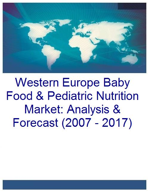 Western Europe Baby Food & Pediatric Nutrition Market: Analysis & Forecast (2007 - 2017) - Product Image