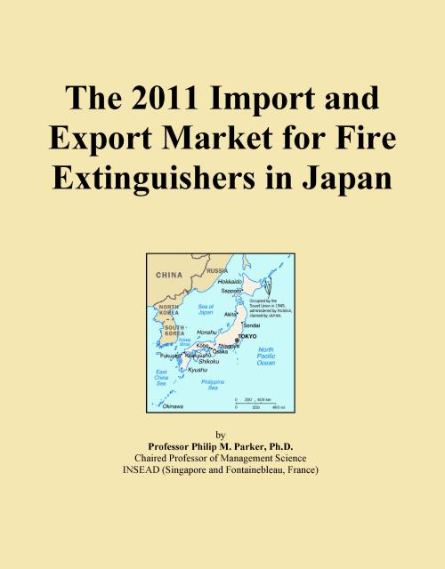 The 2011 Import and Export Market for Fire Extinguishers in Japan - Product Image