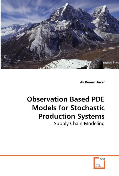 Observation Based PDE Models for Stochastic