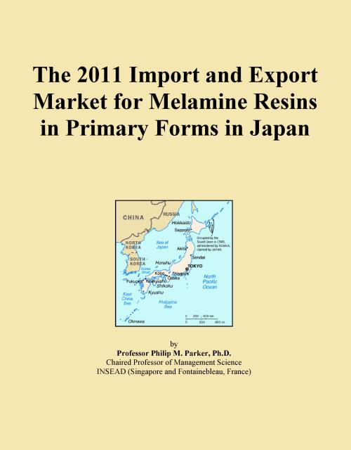 The 2011 Import and Export Market for Melamine Resins in Primary Forms in Japan - Product Image