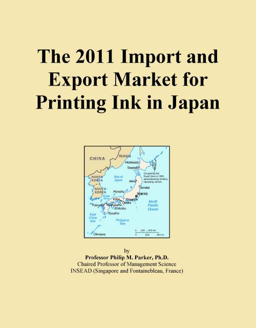 The 2011 Import and Export Market for Printing Ink in Japan - Product Image