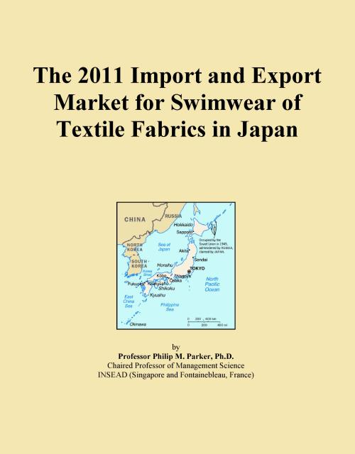 The 2011 Import and Export Market for Swimwear of Textile Fabrics in Japan - Product Image
