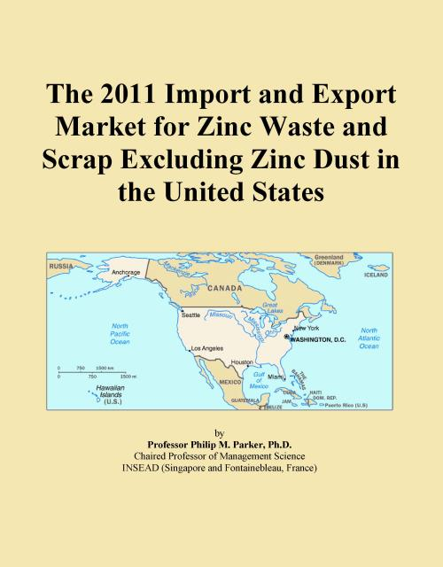 The 2011 Import and Export Market for Zinc Waste and Scrap Excluding Zinc Dust in the United States - Product Image