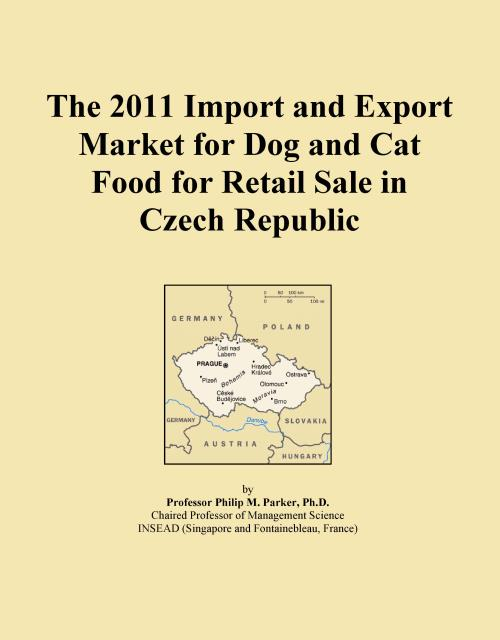 The 2011 Import and Export Market for Dog and Cat Food for Retail Sale in Czech Republic - Product Image