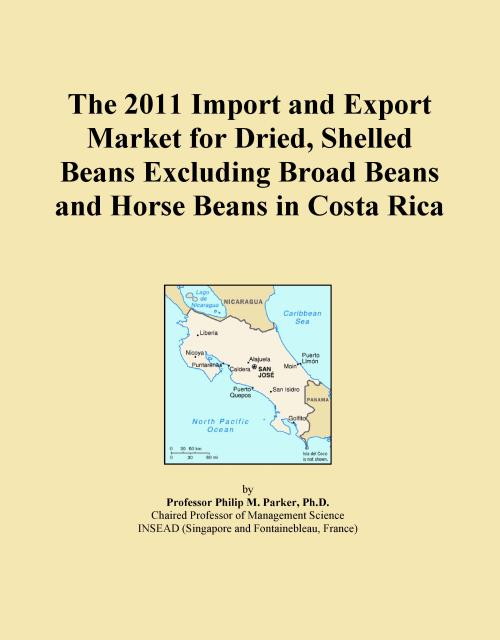 The 2011 Import and Export Market for Dried, Shelled Beans Excluding Broad Beans and Horse Beans in Costa Rica - Product Image