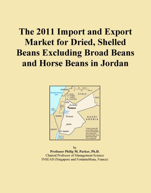 The 2011 Import and Export Market for Dried, Shelled Beans Excluding Broad Beans and Horse Beans in Jordan - Product Image