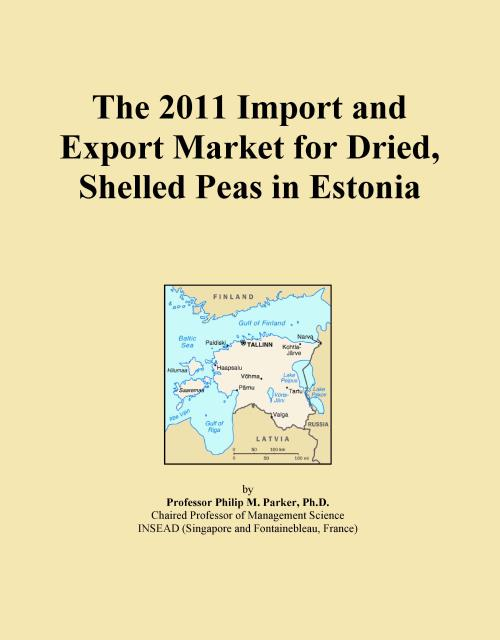 The 2011 Import and Export Market for Dried, Shelled Peas in Estonia - Product Image