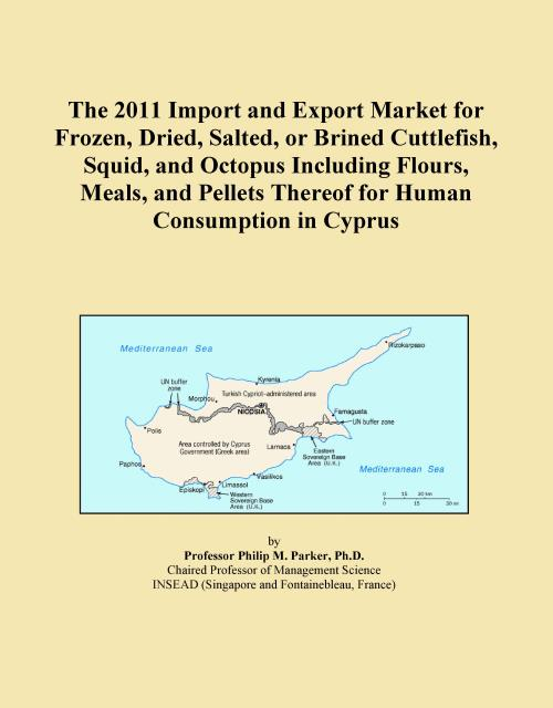 The 2011 Import and Export Market for Frozen, Dried, Salted, or Brined Cuttlefish, Squid, and Octopus Including Flours, Meals, and Pellets Thereof for Human Consumption in Cyprus - Product Image