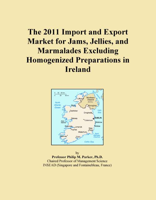 The 2011 Import and Export Market for Jams, Jellies, and Marmalades Excluding Homogenized Preparations in Ireland - Product Image