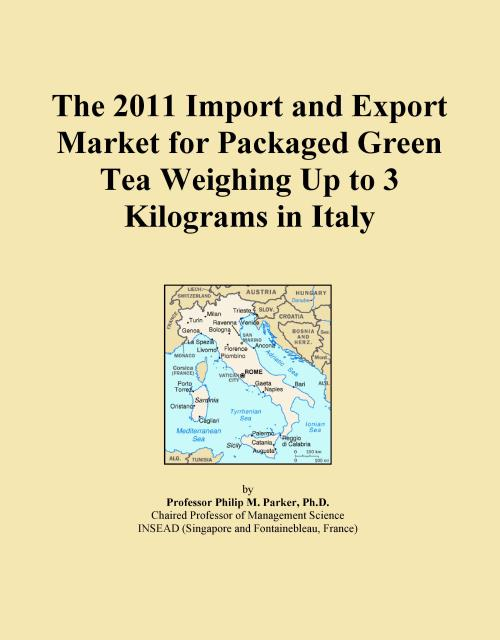 The 2011 Import and Export Market for Packaged Green Tea Weighing Up to 3 Kilograms in Italy - Product Image