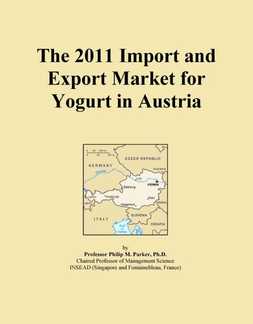 The 2011 Import and Export Market for Yogurt in Austria - Product Image