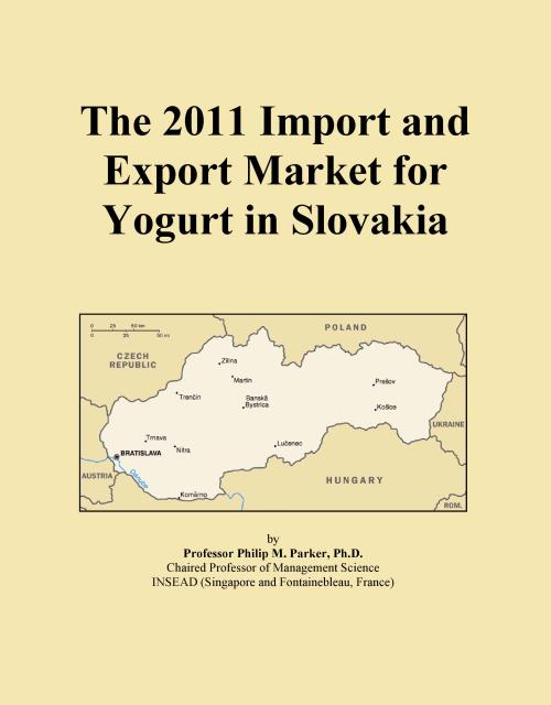 The 2011 Import and Export Market for Yogurt in Slovakia - Product Image