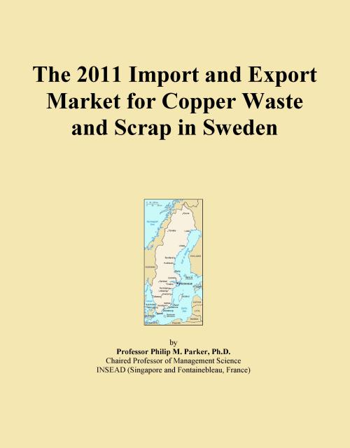 The 2011 Import and Export Market for Copper Waste and Scrap in Sweden - Product Image