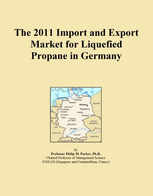 The 2011 Import and Export Market for Liquefied Propane in Germany - Product Image