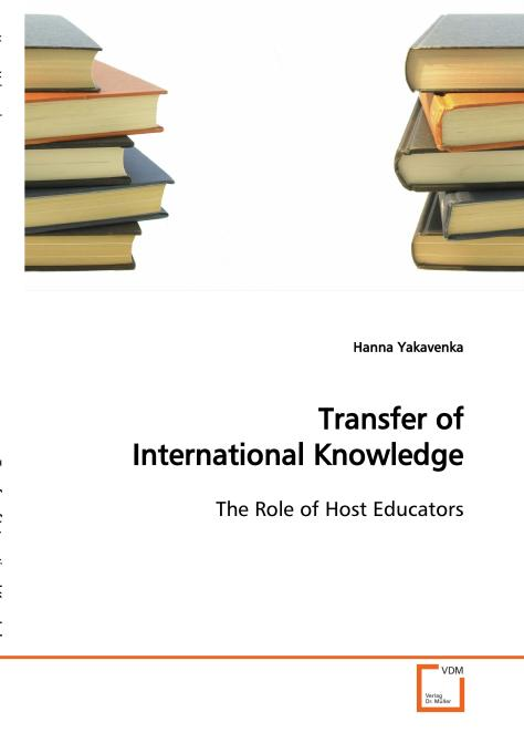 Transfer of International Knowledge. Edition No. 1 - Product Image