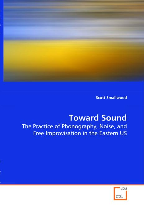 Toward Sound. Edition No. 1 - Product Image