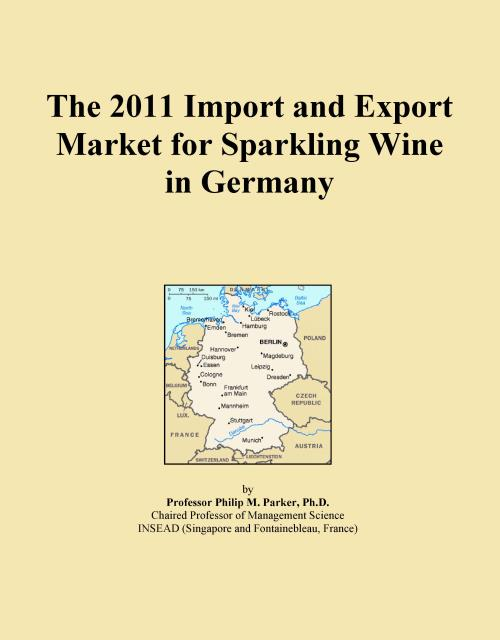 The 2011 Import and Export Market for Sparkling Wine in Germany - Product Image