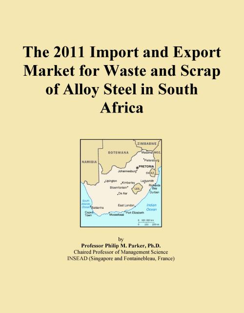 The 2011 Import and Export Market for Waste and Scrap of Alloy Steel in South Africa - Product Image