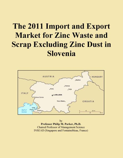 The 2011 Import and Export Market for Zinc Waste and Scrap Excluding Zinc Dust in Slovenia - Product Image