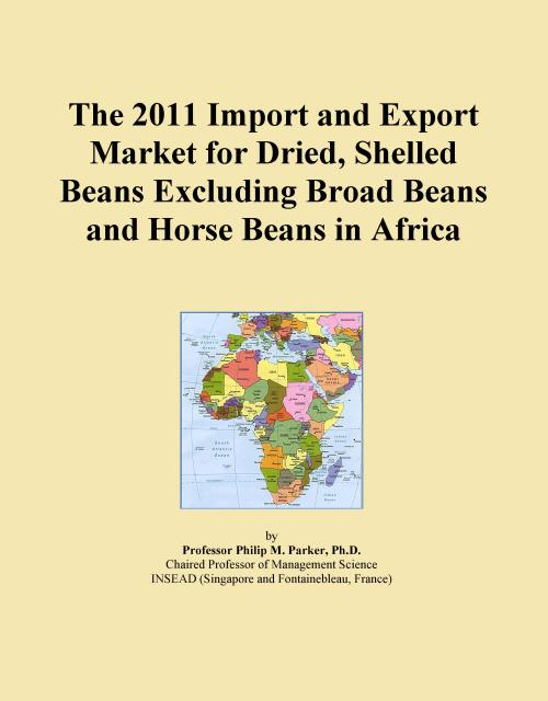 The 2011 Import and Export Market for Dried, Shelled Beans Excluding Broad Beans and Horse Beans in Africa - Product Image