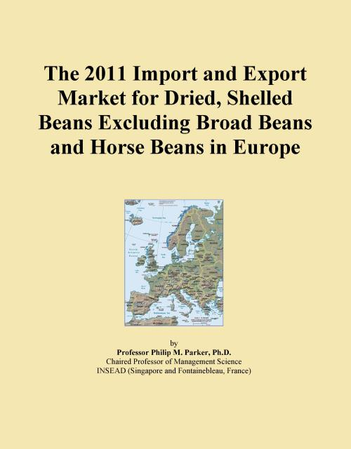 The 2011 Import and Export Market for Dried, Shelled Beans Excluding Broad Beans and Horse Beans in Europe - Product Image