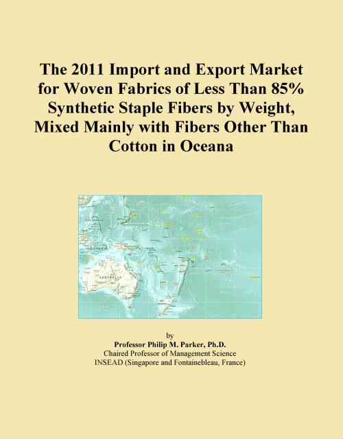 The 2011 Import and Export Market for Woven Fabrics of Less Than 85% Synthetic Staple Fibers by Weight, Mixed Mainly with Fibers Other Than Cotton in Oceana - Product Image