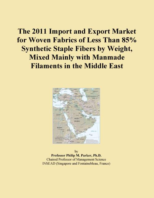 The 2011 Import and Export Market for Woven Fabrics of Less Than 85% Synthetic Staple Fibers by Weight, Mixed Mainly with Manmade Filaments in the Middle East - Product Image