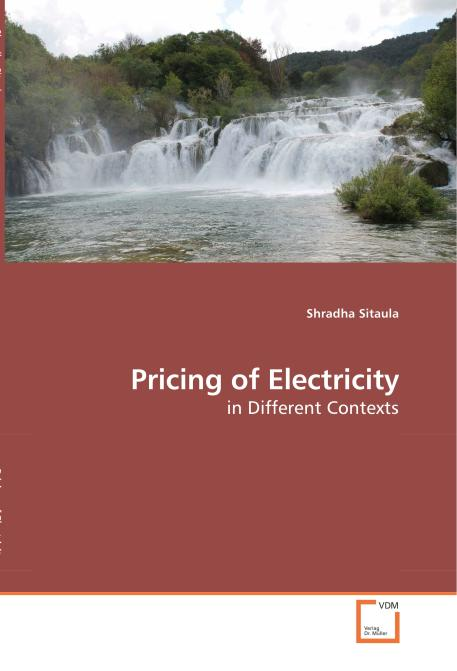 Pricing of Electricity. Edition No. 1 - Product Image