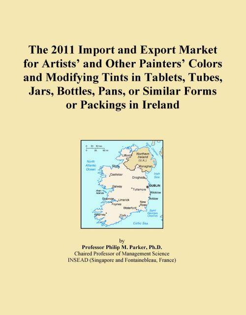 The 2011 Import and Export Market for Artists' and Other Painters' Colors and Modifying Tints in Tablets, Tubes, Jars, Bottles, Pans, or Similar Forms or Packings in Ireland - Product Image