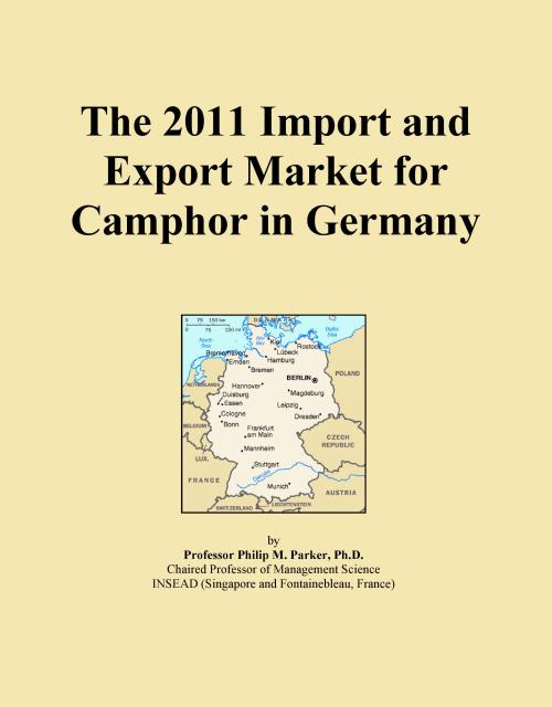 The 2011 Import and Export Market for Camphor in Germany - Product Image