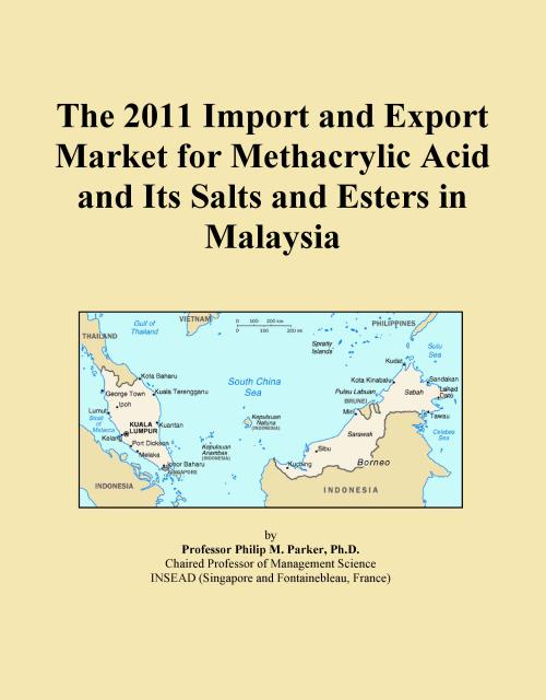 The 2011 Import and Export Market for Methacrylic Acid and Its Salts and Esters in Malaysia - Product Image